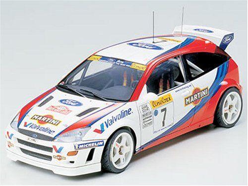 Tamiya 1/24 Sports Car Series No.217 Ford Focus WRC Model Car 24217