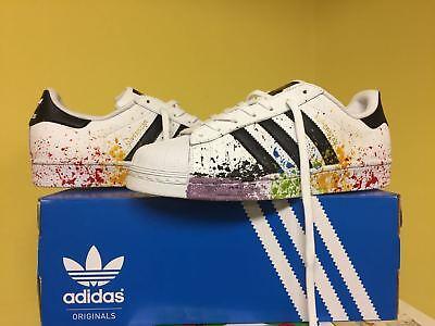 Schuhe Adidas Superstar mit für Feldspritze Bunt | eBay