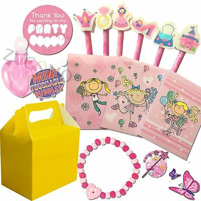 """Personalised party boxes with contents /""""pre filled/"""" birthday//wedding//christmas"""