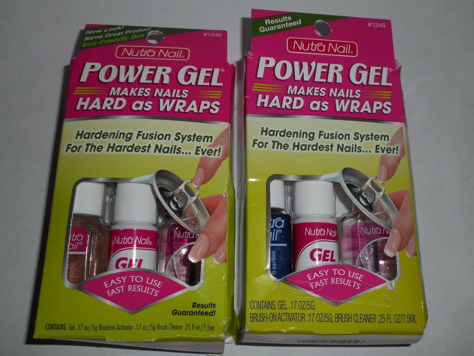 Nutra Nail Power GEL Makes Nails Hard as Wraps Hardening #1245 for ...