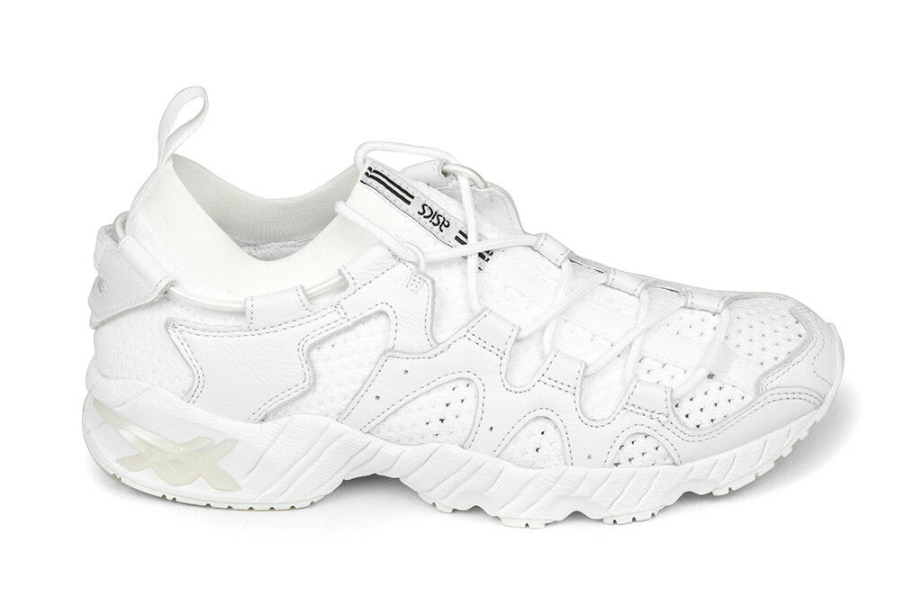Asics Gel-Mai Knit in bianca/bianca H8G3N.0101 Sz 8-13 BNIB Free Shipping