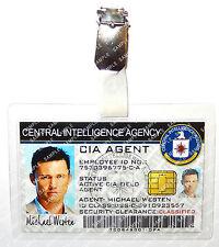 Burn Notice Michael Westen CIA Agent ID Badge Spy Cosplay Costume Comic Con