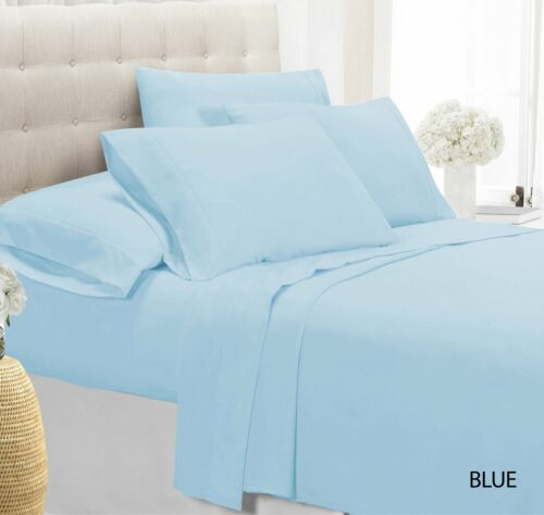 4-Piece Luxury Comfort Bamboo-Blend Sheet Set