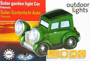 Solar Gartenleuchte LED-Solarleuchte Auto Motorrad Lampe Gartenfigur Gartenlampe