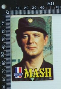 VINTAGE-MASH-4077-TV-SHOW-PAULS-ICE-CREAM-AUSTRALIA-ADVERTISING-PROMO-STICKER
