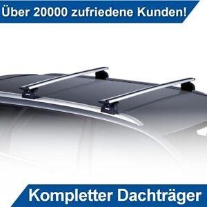 flache Aluminium Dachtr/äger zur Montage an Integrierte Relinge