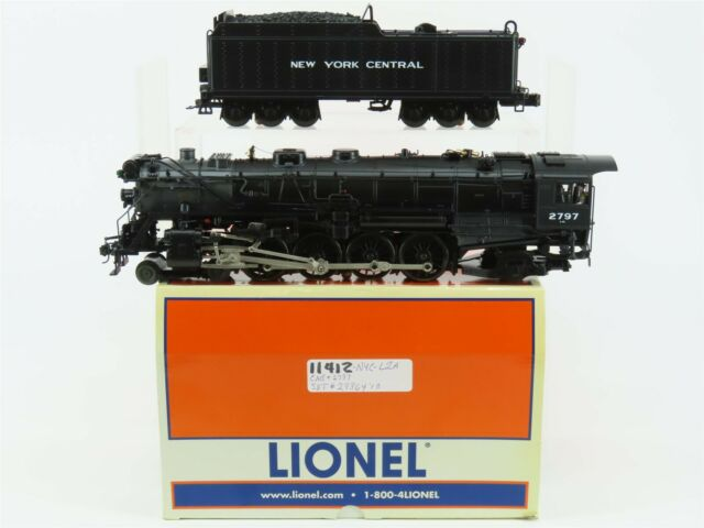 O Gauge 3-Rail Lionel 6-11412 NYC New York Central 4-8-2 Mohawk Steam w/ TMCC