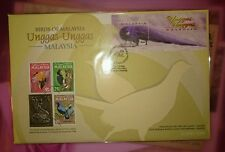 Royal Selangor Pewter Stamp FDC - Year 2000 Birds of Malaysia Unggas Unggas