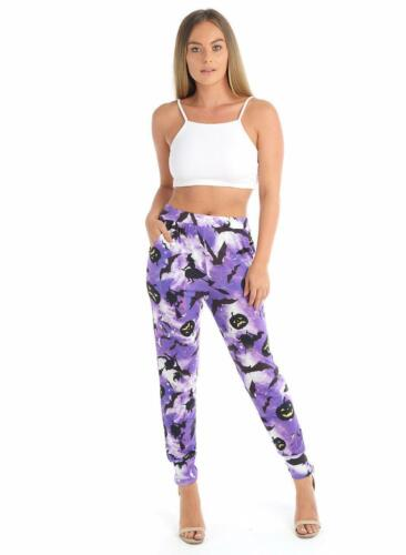 Da Donna Ali Baba Harem Pantaloni Pantaloni Leggings Donna Baggy Aladino Stile Boho Hippy
