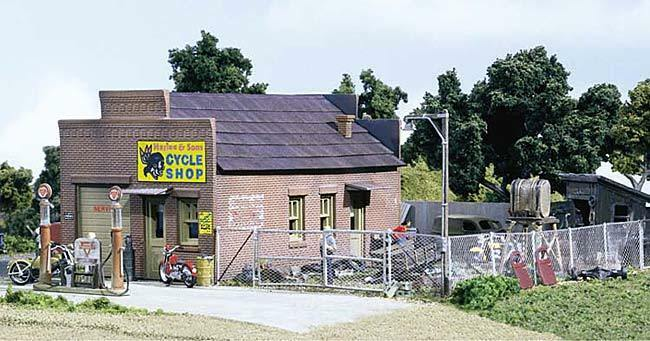HS Woodland DPM 40600 Harlee & Sons Cycle Shop US Building Bicycle Business