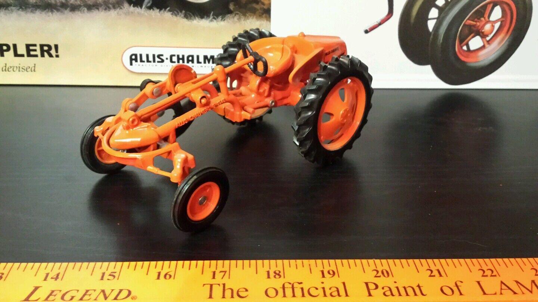 ERTL ALLIS CHALMERS G avec  charrue 1 16 DIECAST METAL Farm tracteur Replica Jouet  meilleure qualité