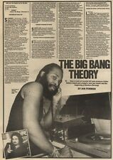 18/9/82Pgn13 Article & Picture(s) the Big Bang Theory Arthur Baker & Rockers Rev