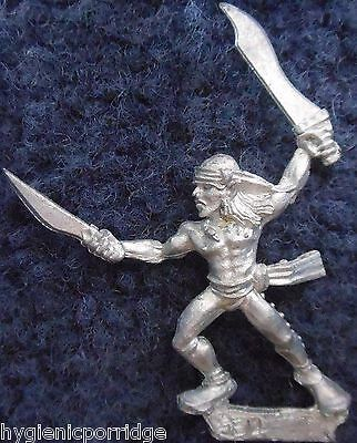 1990 Sea Elf MM82 SE 14 Marauder Elven Army Aquatic Warhammer Citadel AD&D Metal