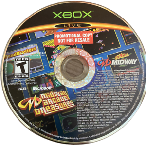 Midway Arcade Treasures Disc Only Original Xbox Game