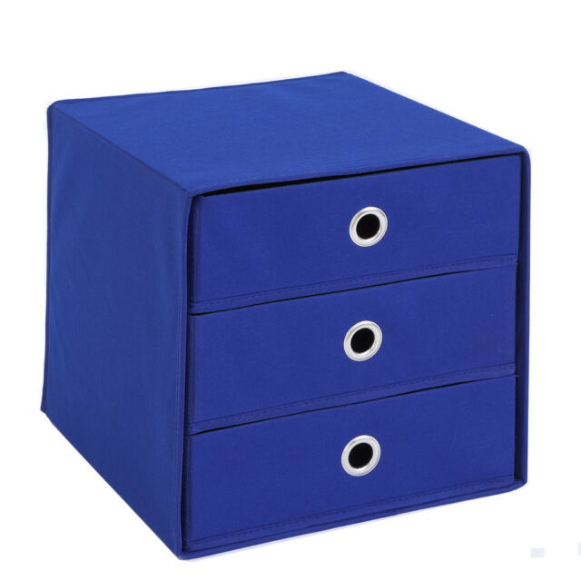 """Mega31"" Versatile Canvas Storage Drawer Box. (fits compatible furniture)"