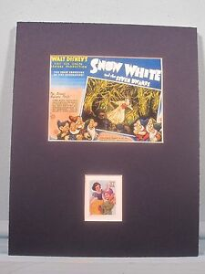 Walt Disney's Snow White and the Seven Dwarfs & its own Stamp
