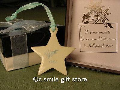 Ashton Drake GENE Doll Accessory *STAR ORNAMENT* Mel Odom MIB Retired RARE!!