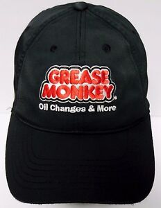 8fac18714cd Image is loading GREASE-MONKEY-Service-Oil-Changes-ADVERTISING-LOGO-Black-