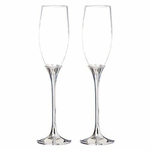 Roman Inc - Champagne Glass Set of Two (12978)