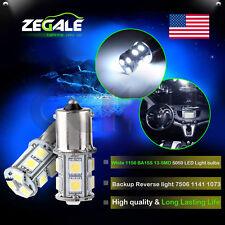 2X 1156 BA15S 13SMD LED White Brake Light Bulb For 2007-2012 Benz GL Class US