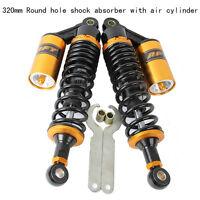 320mm Motorcycle Shock Absorbers Rear Suspension For Harley Honda Yamaha Suzuki