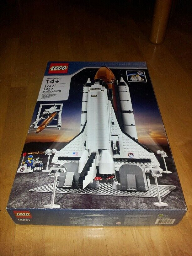LEGO 10231 Creator Expert  Shuttle Expedition Exclusive no lego 10213 adventurer