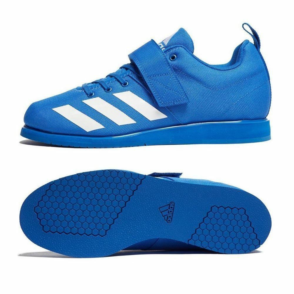 Adidas Powerlift 4 Weightlifting schuhe Mens damen Blau Powerlifting Trainers