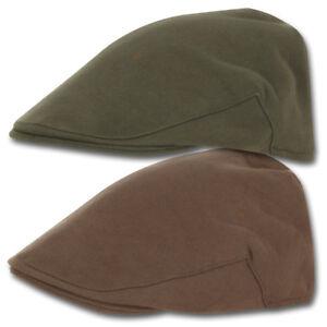 Jack Pyke Wool Blend Tweed Check Flat Cap in Green Hunter Shooting Hat 61cm