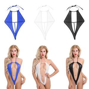 Women-Lingerie-Dress-Babydoll-Mesh-Bodysuit-Teddy-Underwear-Nightwear-Swimwear
