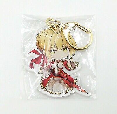 Fate Grand Order FGO C94 Nero Claudius Saber Acrylic Keychain Charm