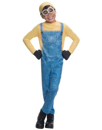 Minions Kinder Kostüm Bob Minion Gr L 8-10 Jahre 134 140 Verkleidung Fasching