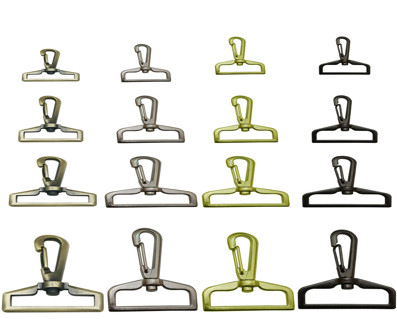 Bag Lobster Clasp Trigger Swivel Clip Snap Hook Strapping 25mm , 32mm , 50mm