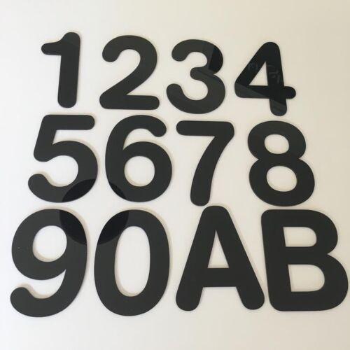 Light Grey /& Dark Grey Mat Large Rectangular House Name Signs /& Chrome Fixings
