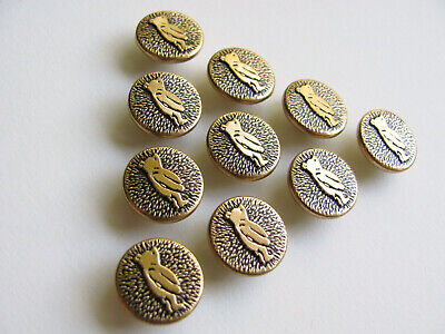 Vintage gold tone buttons
