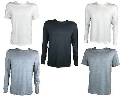 Mens Thermal M&s Tops Ex Marks & Spencer Warm Long & Short Sleeves New