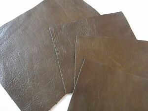 OLD-ENGLISH-OLIVE-100-LEATHER-REMNANT-REPAIR-PATCHES-4-SIZES-TO-CHOOSE-FROM