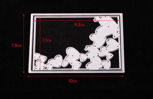 Metal Cutting Dies Stencil Scrapbook DIY Paper Cards Craft Embossing Die-Cut CA