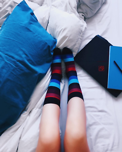 Happy Socks Stripe Unisex Socken Größe 36-40 UVP 13€ Bunte Socken
