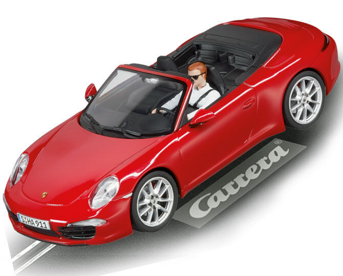 Carrera Digital Porsche 911 Carrera S Cabriolet Slot Car 1 32 30772