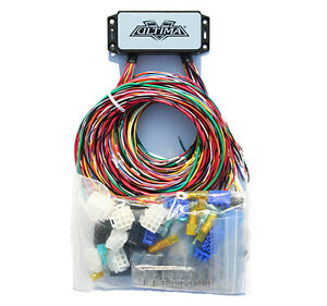 ultima wiring harness complete motorcycle wiring harness for rh ebay com universal plug-n-play wiring harness for motorcycle air horns Universal Wiring Harness Diagram
