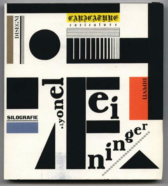 1991 Bruno Monguzzi LYONEL FEININGER Die Brücke BAUHAUS Blaue Reiter Gruppe 1919
