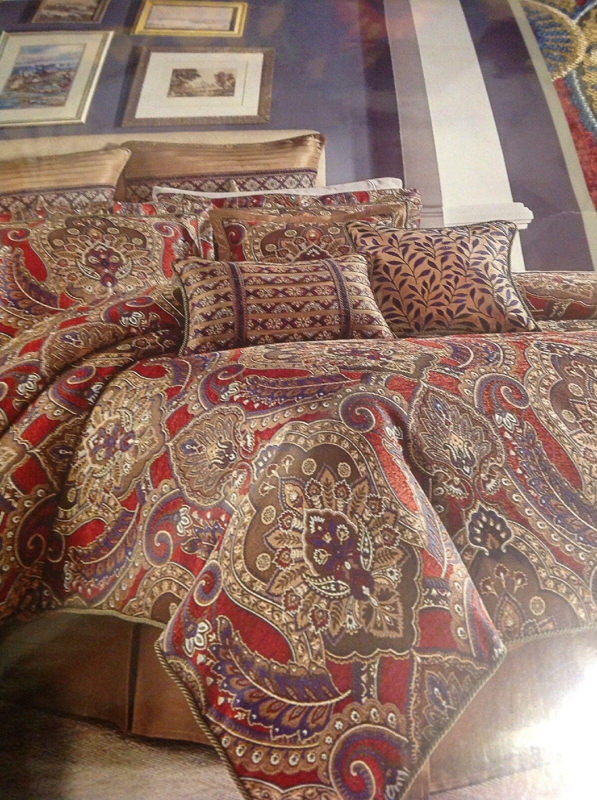 Croscill Margeaux Queen Comforter Set, 4 Pieces, NEW