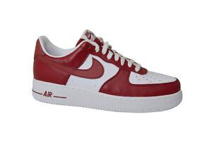 Nike Hommes Lo Blanc Aq4134600 Air Équipe Force 1 Rouge AFxqO7w