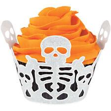 Skeleton Halloween Cupcake Wrap 18 ct from Wilton #0510 - NEW