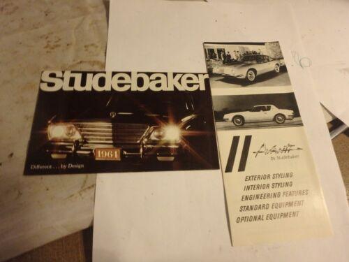 avanti incl vintage STUDEBAKER bundle-2 1964v brochures