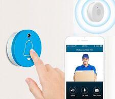 WIFI Smart Videocamera telefono Anello Campanello Citofono Monitor + Indoor Gong BELL