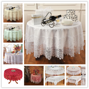 Round-Table-Cloth-Cover-Vintage-Lace-Tablecloth-Wedding-Party-Home-Decor-180cm