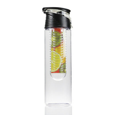 800ml Fruit Infuser Water Bottle Juice Infusing Infusion Detox Drink Lemon Cup