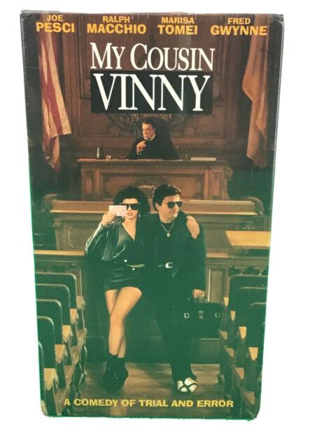 My Cousin Vinny 1992 VHS Joe Pesci Marisa Tomei Ralph Macchio New Sealed NOS NIP