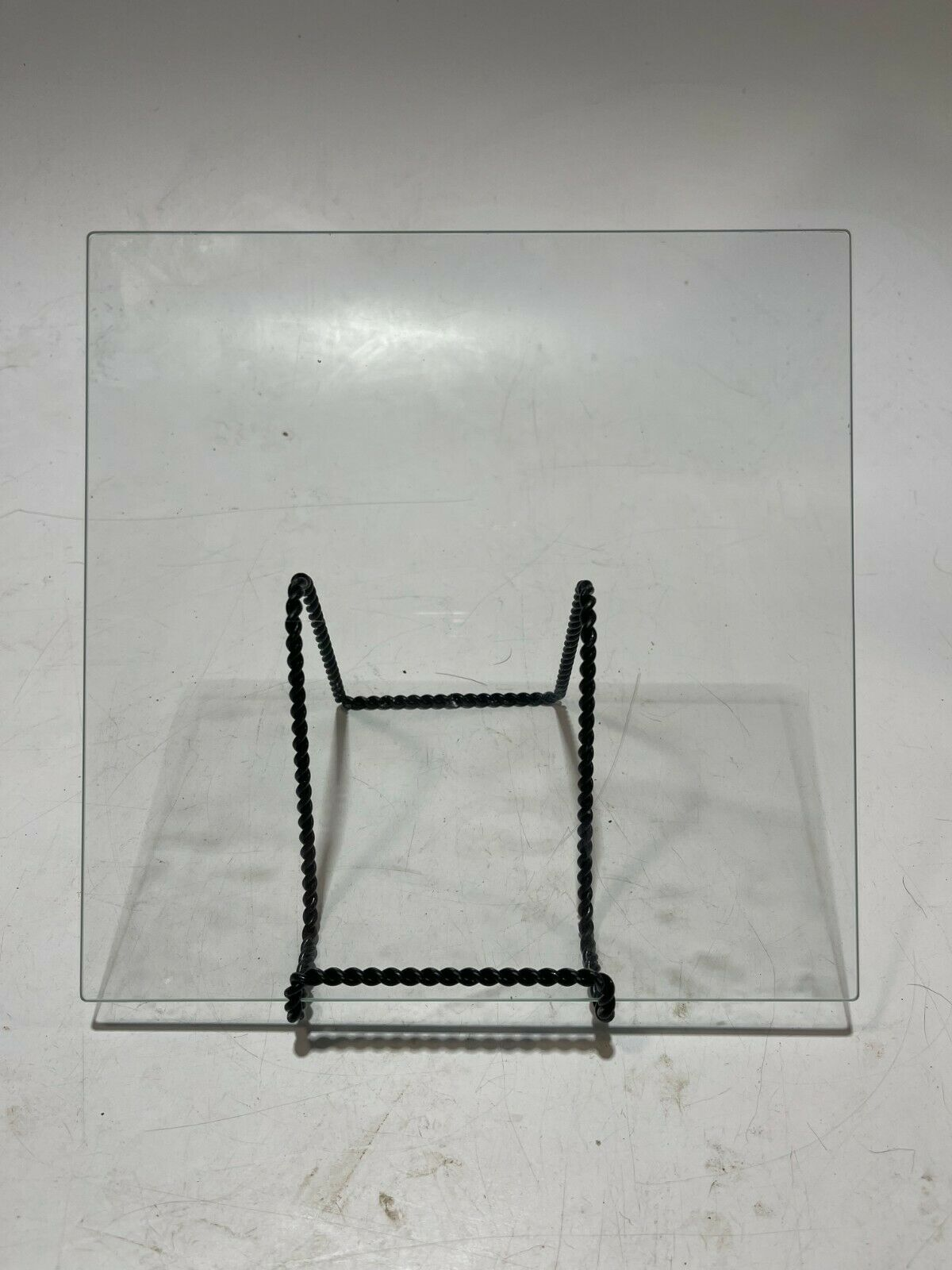 Anet ET4PRO Clear Glass Square Hotbed - USED!
